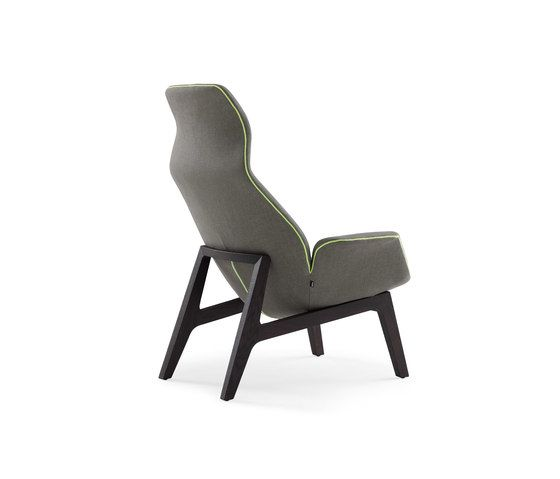 Ventura Lounge armchair by Poliform by Poliform