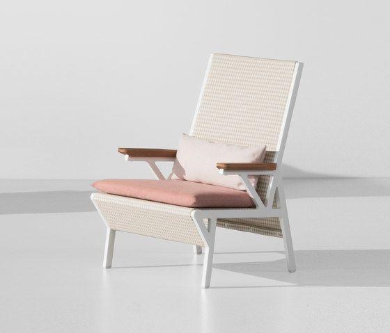 Vieques club armchair by KETTAL by KETTAL