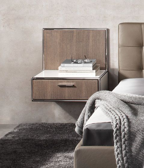 Wall-mounted bedside table by Dauphin Home by Dauphin Home
