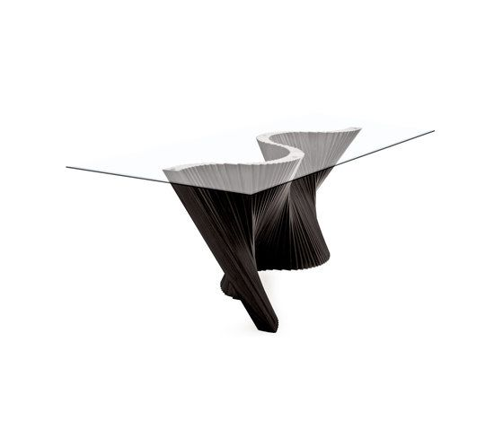 Wave Dining Table by Kenneth Cobonpue by Kenneth Cobonpue