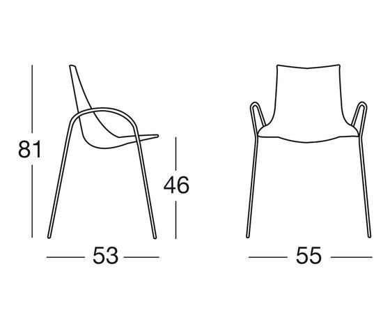 Wave with armrests by Scab Design by Scab Design