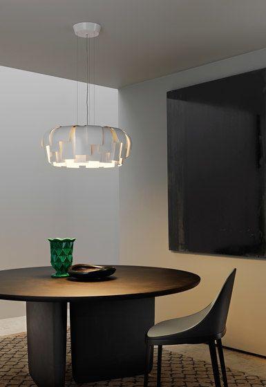Wig Suspension lamp by FontanaArte by FontanaArte