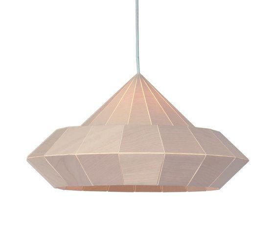Woodpecker Lamp – Birch Wood by Studio Snowpuppe by Studio Snowpuppe