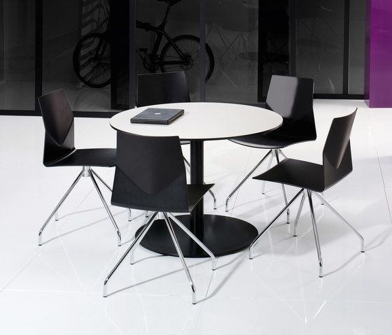 X12 Coloumn with circle foot base by Holmris Office by Holmris Office
