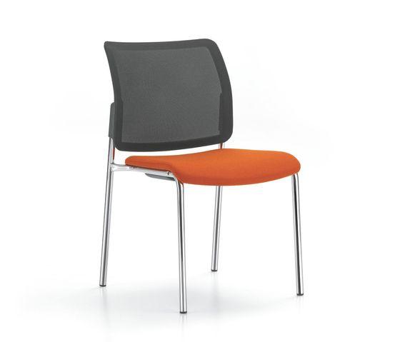 YANOS 4-legged chair by Girsberger by Girsberger