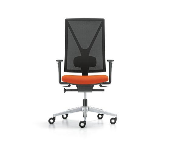 YANOS swivel chair by Girsberger by Girsberger