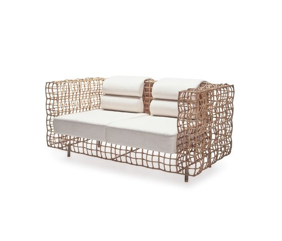 Yin & Yang Loveseat by Kenneth Cobonpue by Kenneth Cobonpue