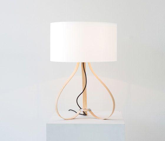 Yun table lamp oak by lasfera by lasfera