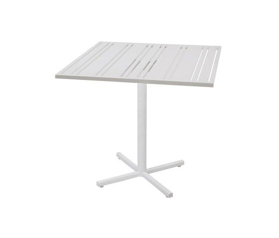 Yuyup counter table 90x90 cm (Base P) by Mamagreen by Mamagreen