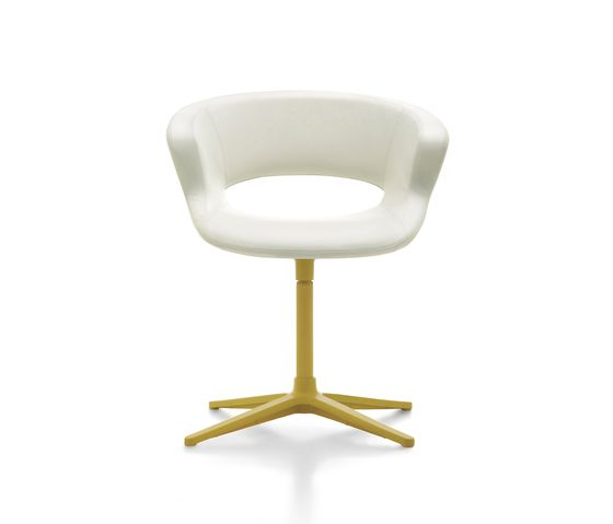 Zed swivel base upholstered by Maxdesign by Maxdesign