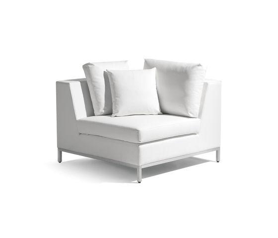 Zendo corner seat by Manutti by Manutti