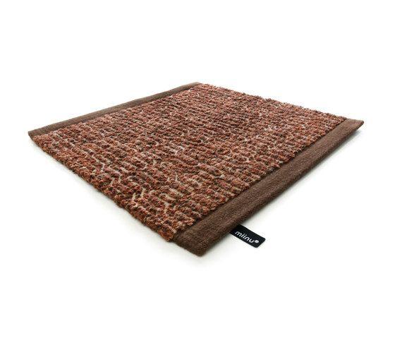 Zigzag copper brown, 200x300cm by Miinu