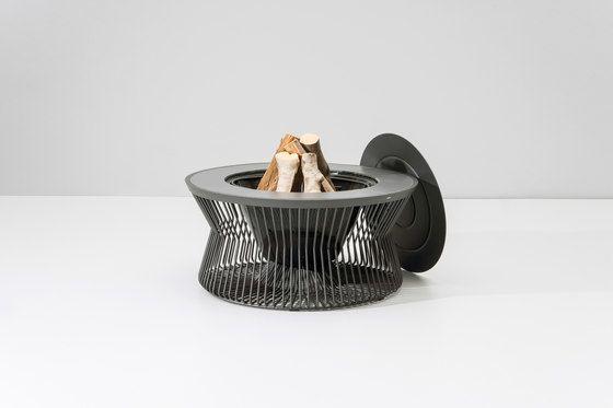 Zigzag fire pit by KETTAL by KETTAL