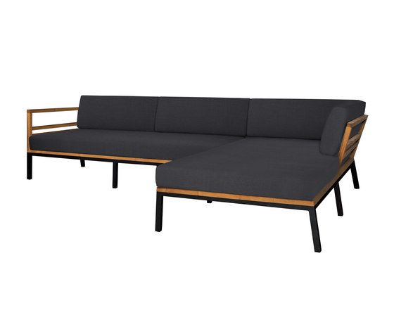 Zudu corner sofa asymetric by Mamagreen by Mamagreen