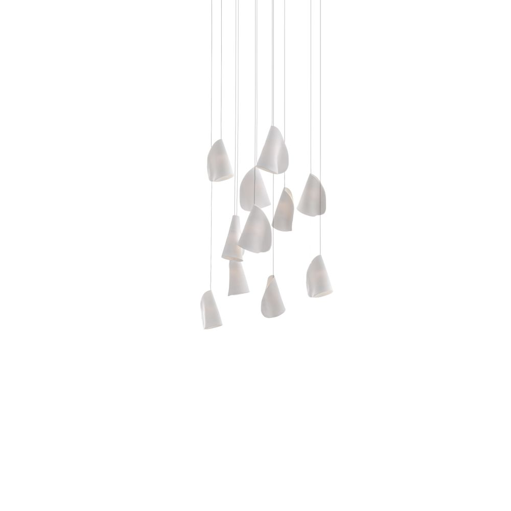 21.11 Rectangular Chandelier by Bocci
