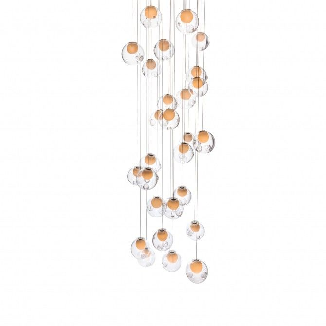 28.11 Square Chandelier by Bocci