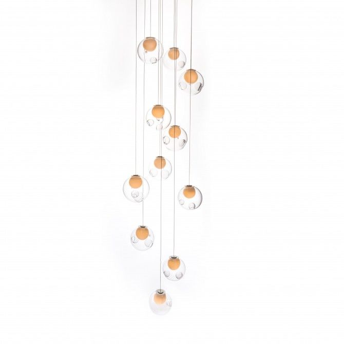 28.16 Square Chandelier by Bocci