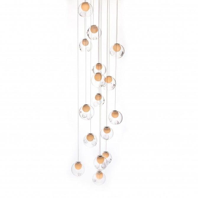 28.28 Square Chandelier by Bocci
