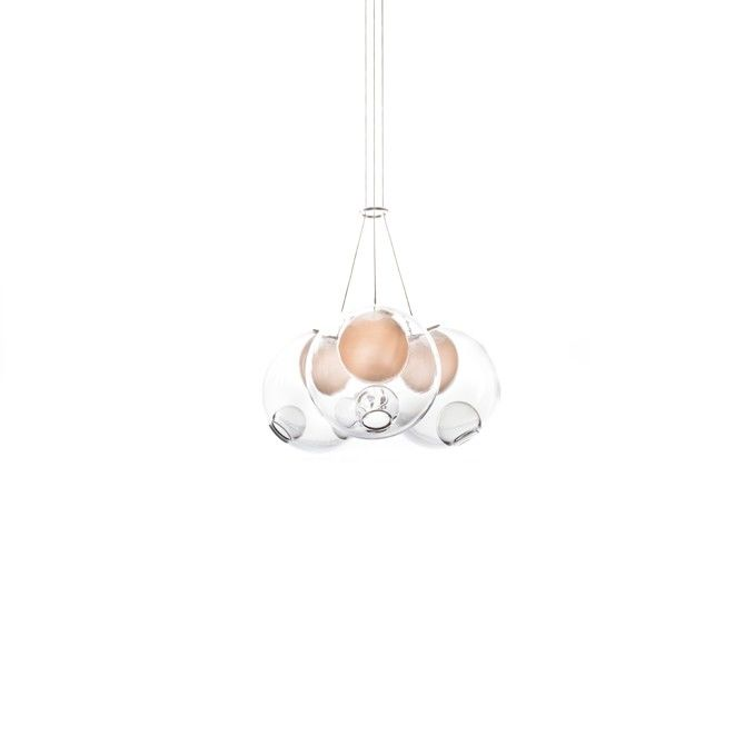 28.3 Cluster of 3 Pendants by Bocci