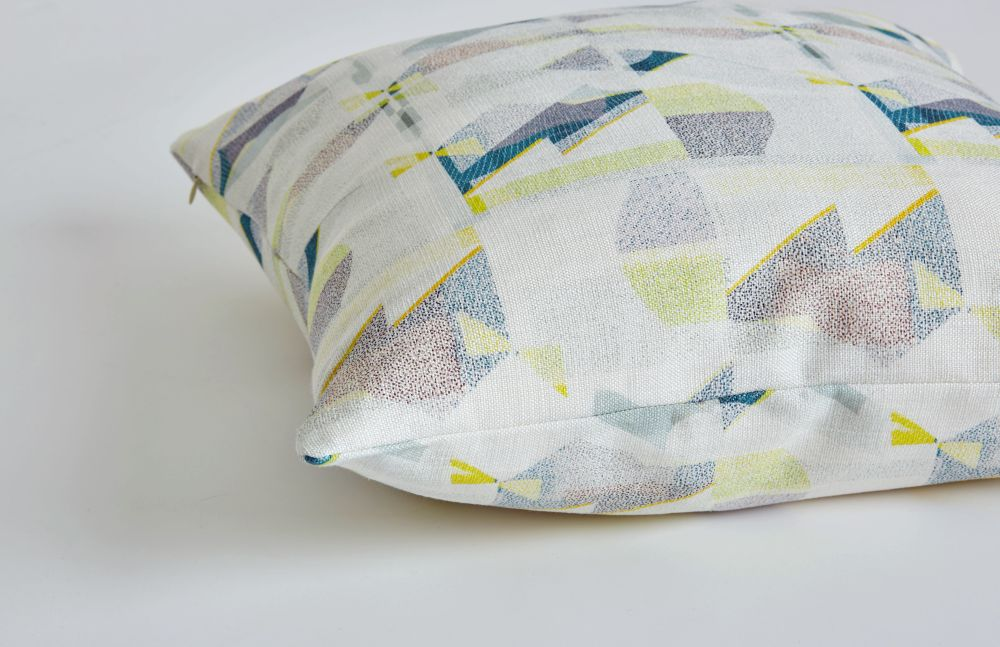 A Shingle Day cushion detail