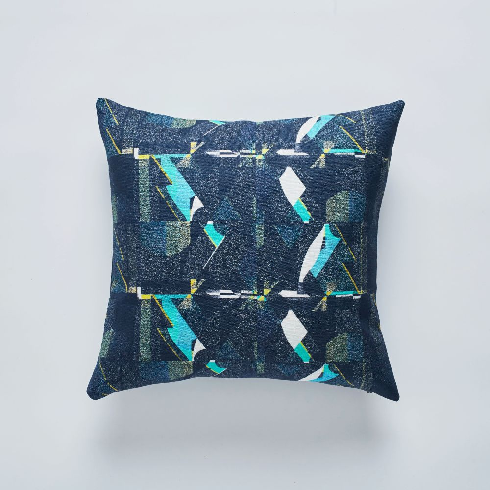 A Shingle Night cushion 50x50cm