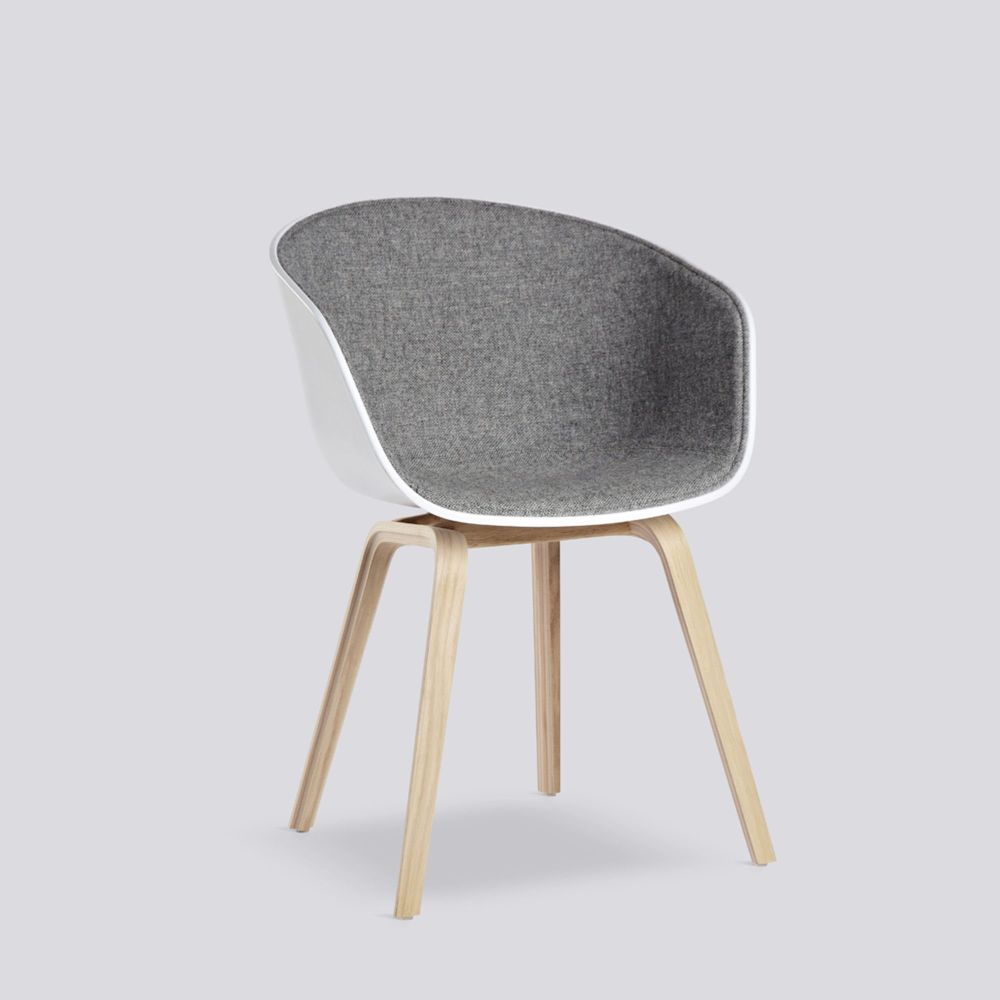 About A Chair AAC 22 with Front Upholstery by Hay