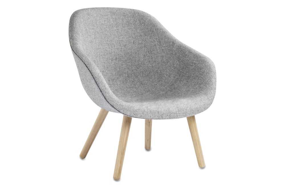 About A Lounge Chair AAL82, Lacquered Oak Legs by Hay