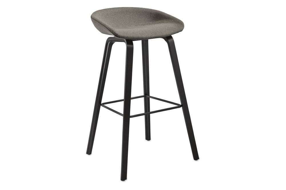 About A Stool AAS33 High Stool, Black Stained Legs by Hay