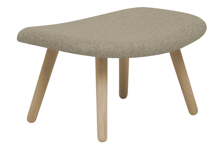 About An Ottoman AAO03, Lacquered Oak Legs by Hay