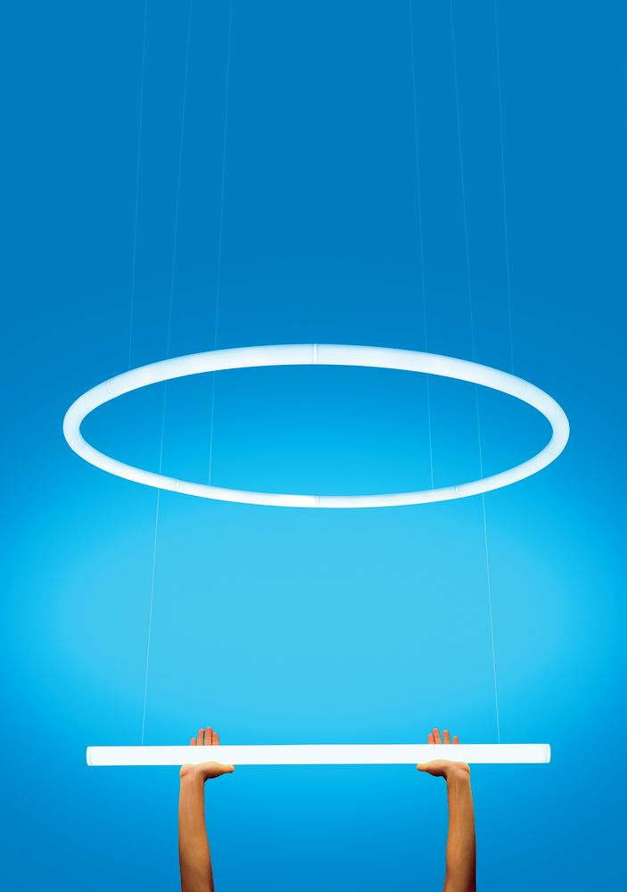 Alphabet Of Light Lineare Pendant Light by Artemide