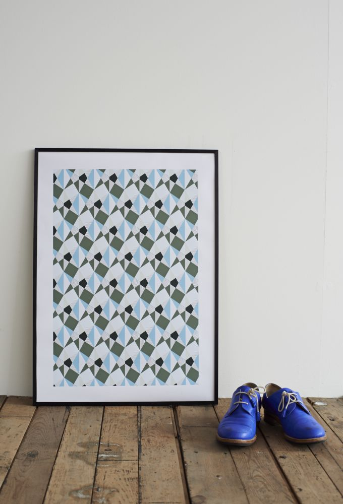 Ambre Screen Print by Lane