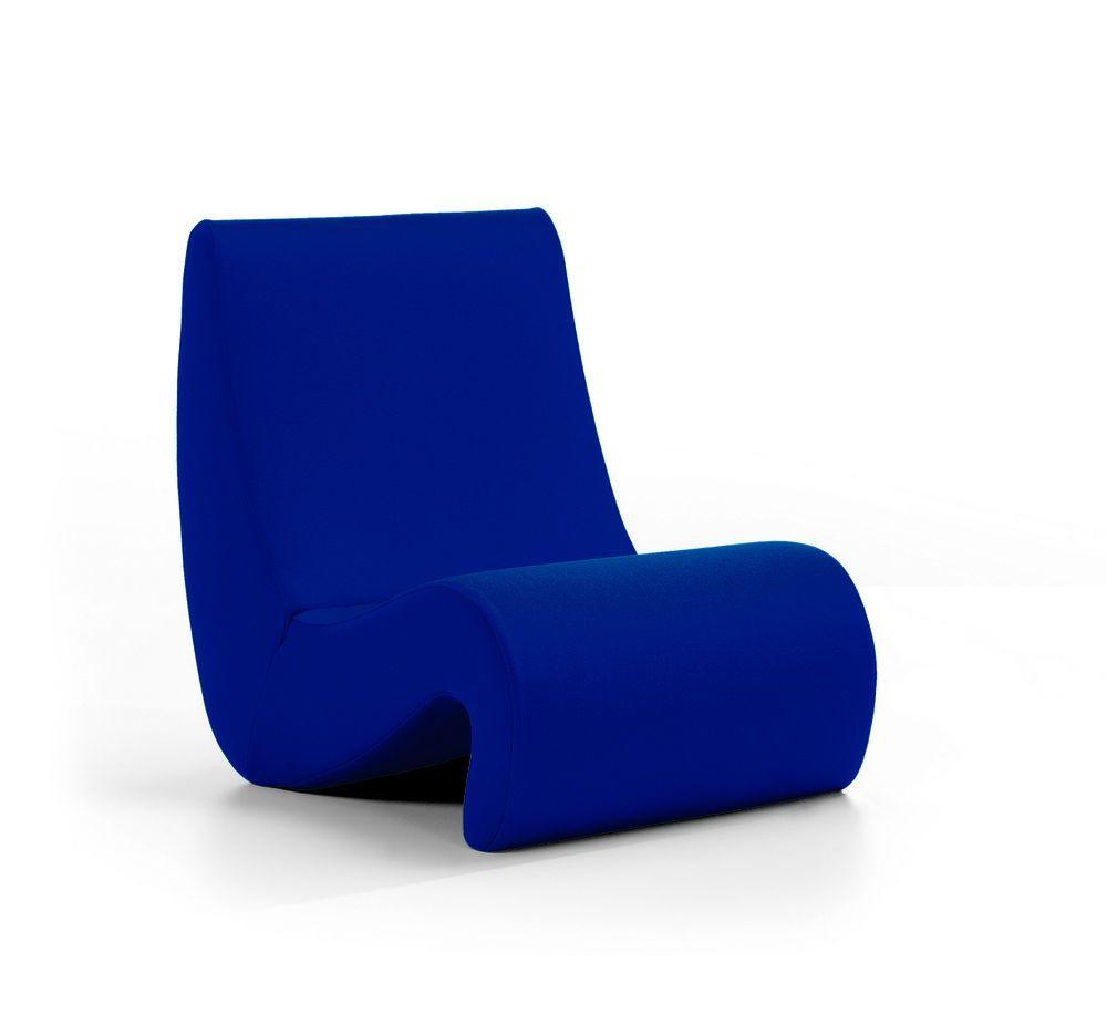 Amoebe Tonus 51 royal blue by Verner Panton for Vitra