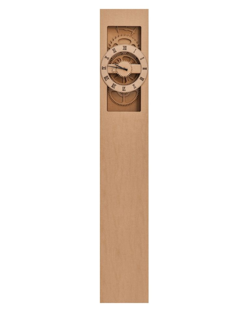 Anatomy of Time Clock by Karton Art Design