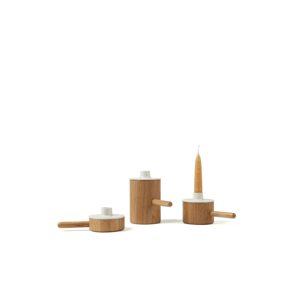 Another Ceramic Candlestick by Another Country