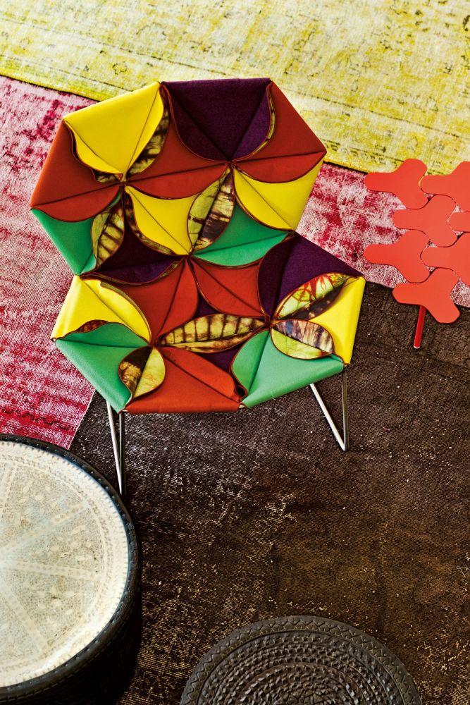 Antibodi Multicolor Armchair by Moroso