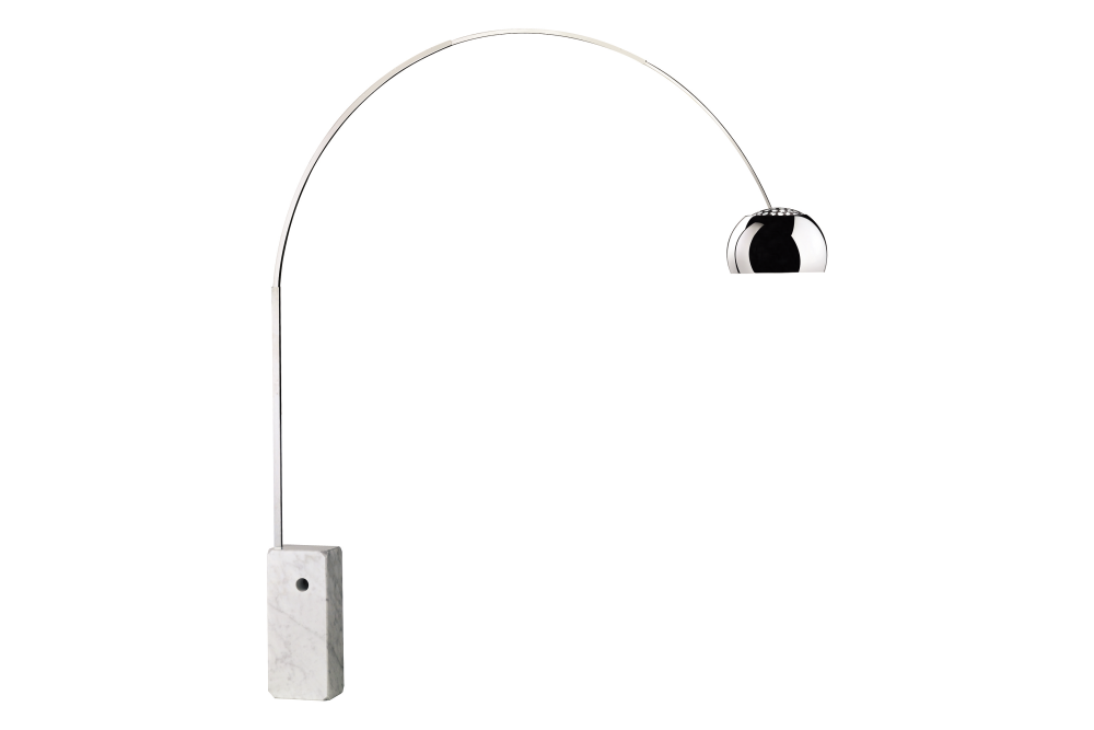 Arco floor lamp hsgsa s by achille pier giacomo for Flos castiglioni arco