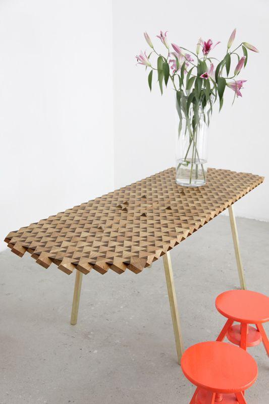 Atlas Dining Table by FUNDAMENTAL.BERLIN