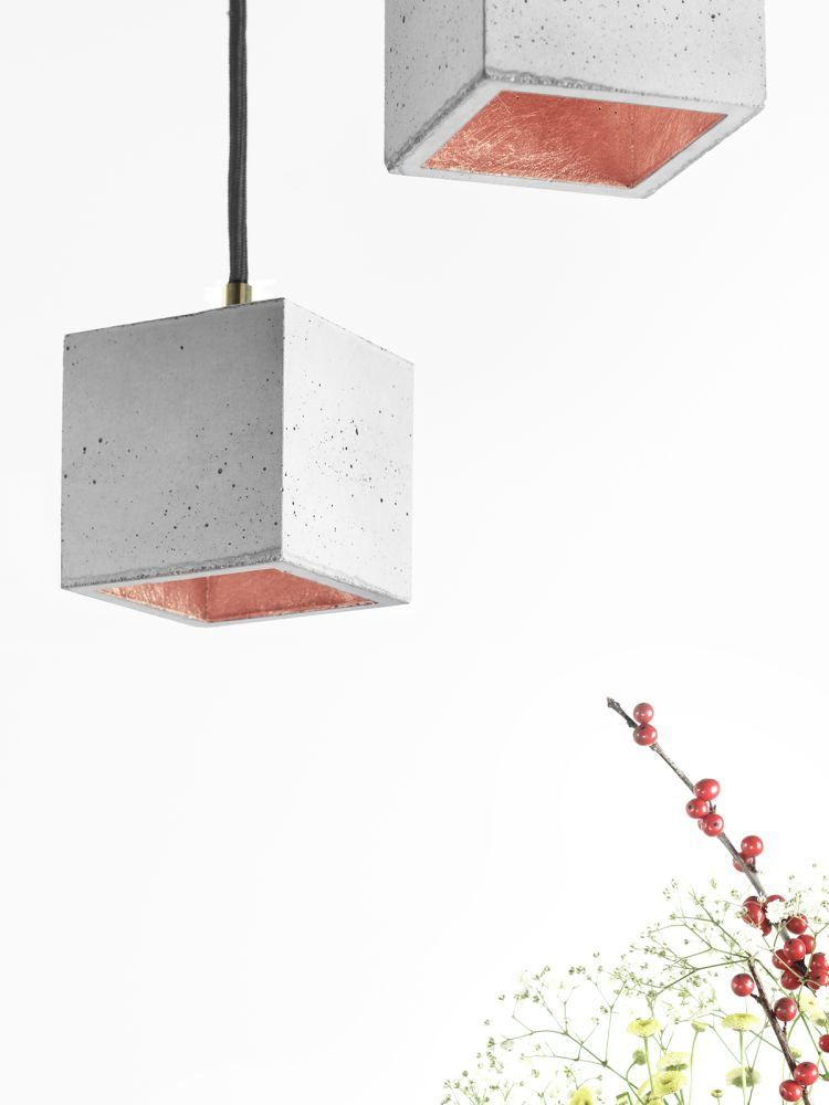 GANTlights [B6] with copper plating