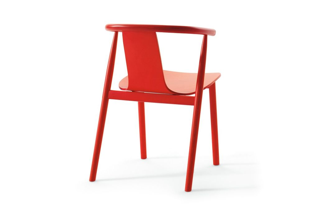 Bac Unupholstered Chair by Cappellini