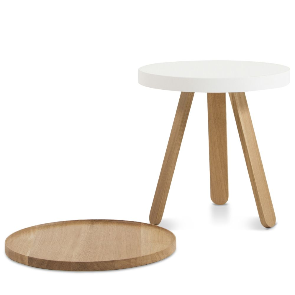 Batea S - Tray table by WOODENDOT