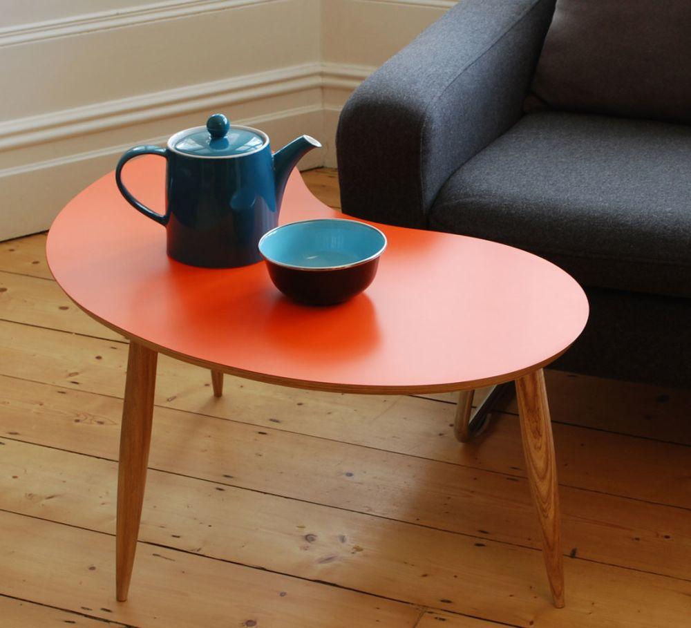 Bean table Orange