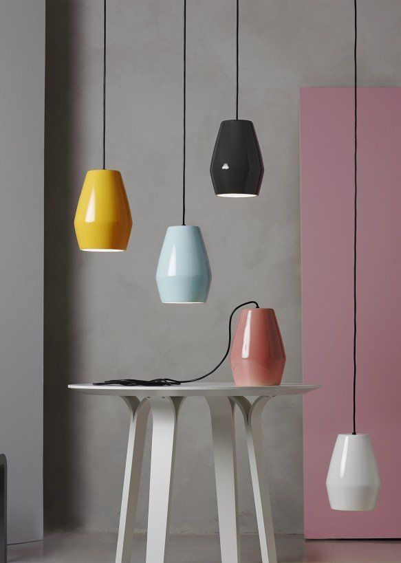 Bell pendant light white by mark braun for northern view more images aloadofball Gallery