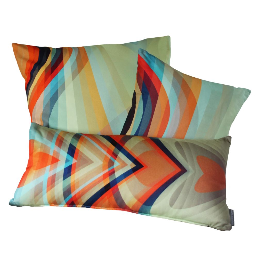 Bliss Square Cushion by Parris Wakefield Additions