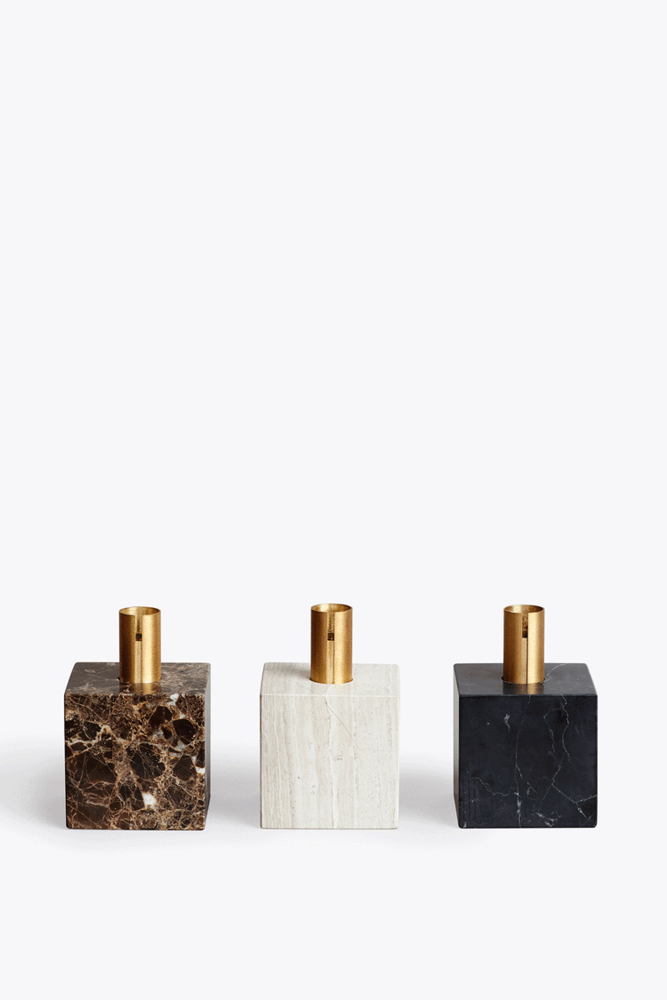 Block Candle Holder by New Works