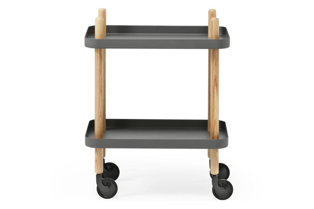Block Side Rectangular Table by Normann Copenhagen