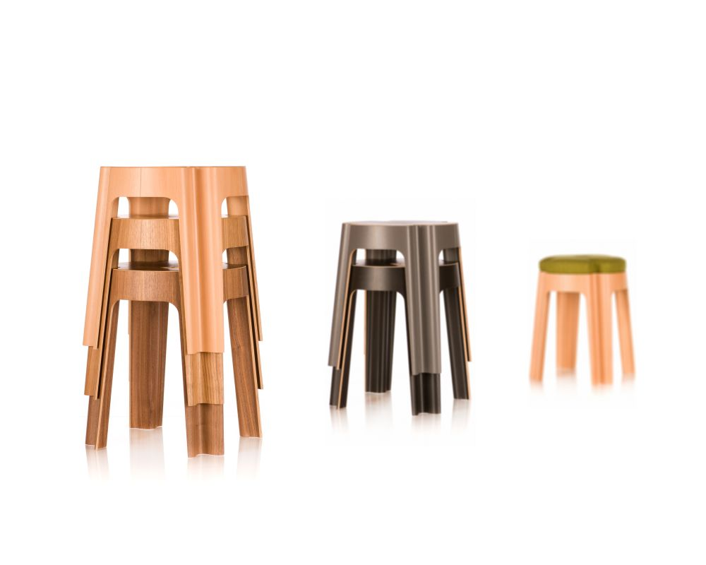 Bloom Stool by RIGA CHAIR