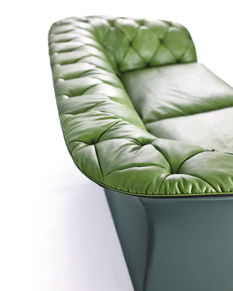 Bohemian 3 Seater Sofa without Back Cushions by Moroso