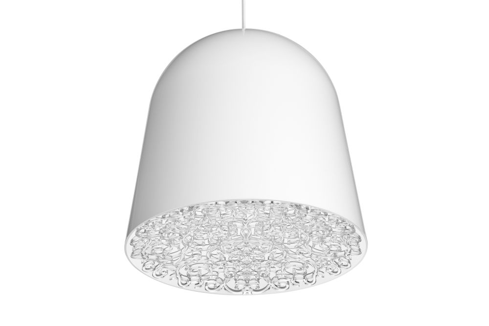 can can pendant light white transparent by marcel wanders for flos