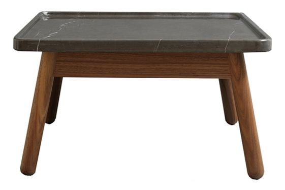 Carve square coffee table by bethan gray - Table basse 80 cm ...