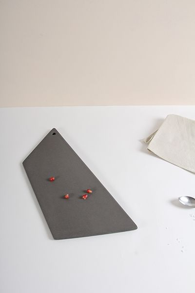Ceramic Plate by Golden Biscotti